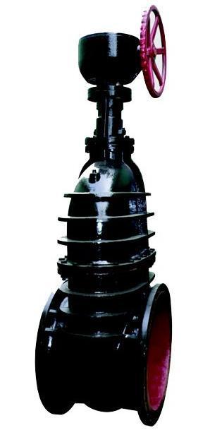 z545t-10伞齿轮传动铸铁楔式闸阀图片