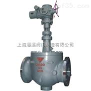 轨道式钢制球阀 【GQ47H 型】轨道式钢制球阀-上海潘溪阀门制造厂家