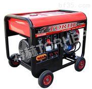 低噪音應急10KW單相汽油發電機
