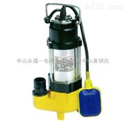 V250污水泵铸铁单相可带浮球水泵