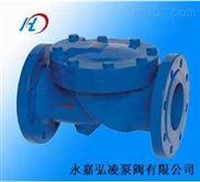 HC44X橡胶瓣止回阀,法兰橡胶瓣止回阀,单向胶瓣止回阀
