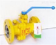 上海产碳钢手动液氨球阀